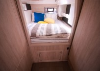 Leopard 43 Power Catamaran for sale - owners cabin