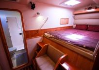 2010 St Francis 50 Catamaran - SULIERE cabin