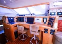 2010 St Francis 50 Catamaran - SULIERE nav station