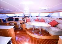 2010 St Francis 50 Catamaran - SULIERE salon