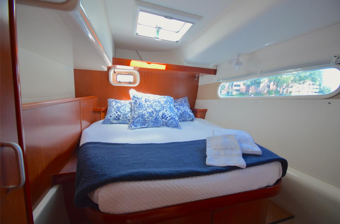Leopard 46 Catamaran sold - cabin