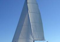 St Francis 50 Catamaran sailing