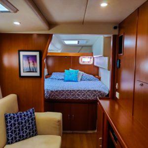Leopard 46 Catamaran master cabin