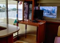Leopard 46 Catamaran interior