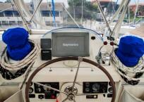 Leopard 46 Catamaran helm station