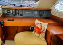 Leopard 46 Catamaran nav station