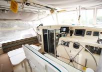 Voyage Norseman 43 Catamaran aft deck