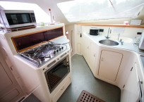 Voyage Norseman 43 Catamaran galley