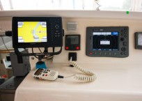 Voyage Norseman 43 Catamaran helm equipment