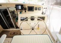 Voyage Norseman 43 Catamaran helm station