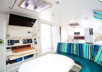 Voyage Norseman 43 Catamaran nav station