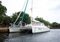 Voyage Norseman 43 Catamaran profile