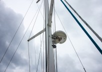 Voyage Norseman 43 Catamaran radar
