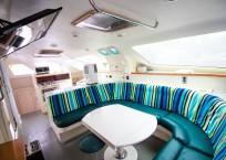 Voyage Norseman 43 Catamaran salon