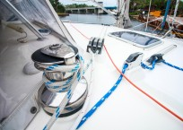 Voyage Norseman 43 Catamaran winch