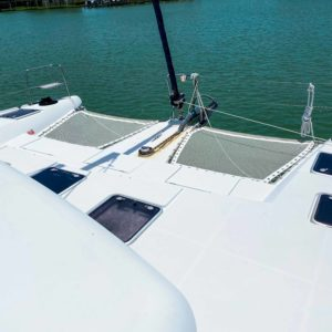 Lagoon 420 Catamaran trampoline