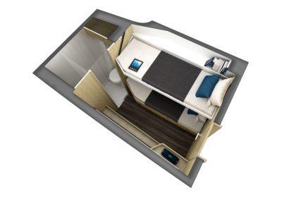 Outremer 55 Catamaran cabin configuration 4