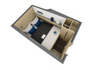 Outremer 55 Catamaran cabin configuration