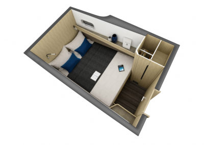 Outremer 55 Catamaran cabin configuration 5