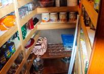1981 Marine Trader Pilothouse 49 pantry