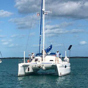 2000 Catana 431 Catamaran QUANDARY forward