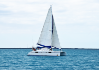 2000 Catana 431 Catamaran QUANDARY profile
