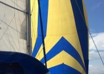 2000 Catana 431 Catamaran QUANDARY sail