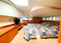 2003 Lagoon 43 Power Catamaran-BLUE MOON owners cabin