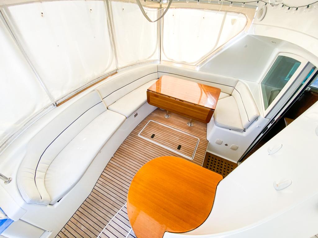 2003 Lagoon 43 Power Catamaran-BLUE MOON cockpit