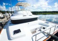 2003 Lagoon 43 Power Catamaran-BLUE MOON bow