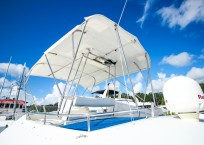 2003 Lagoon 43 Power Catamaran-BLUE MOON flybridge