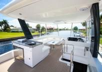 2020 Leopard 43 Power Catamaran LADY MARGARET flybridge