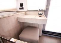 2020 Leopard 43 Power Catamaran LADY MARGARET nav station