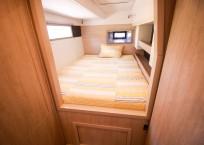 2020 Leopard 43 Power Catamaran LADY MARGARET owners cabin