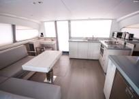 2020 Leopard 43 Power Catamaran LADY MARGARET salon