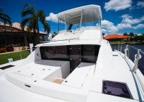 2020 Leopard 43 Power Catamaran LADY MARGARET forward seating