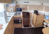2008 Lagoon 420 Catamaran for sale WAHOO galley