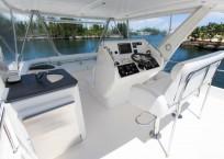 2011 Leopard 47 Power Catamaran flybridge