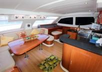 2011 Leopard 47 Power Catamaran salon
