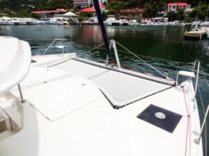 2013 Leopard 48 Catamaran KNOT ON CALL cabin