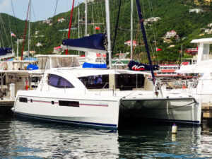 2013 Leopard 48 Catamaran KNOT ON CALL profile