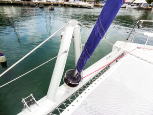 2013 Leopard 48 Catamaran KNOT ON CALL sail equipment