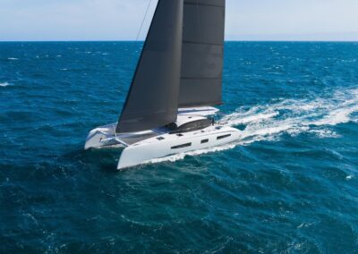 Outremer 55 Catamaran Sailing Performance