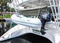 Manta 42 MKII Catamaran for sale dinghy