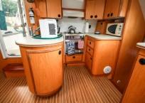 Manta 42 MKII Catamaran for sale galley