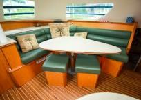 Manta 42 MKII Catamaran for sale salon seating