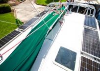 Manta 42 MKII Catamaran for sale solar panels