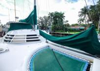 Manta 42 MKII Catamaran for sale bow
