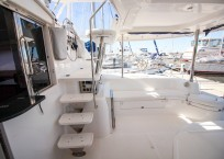 2011 Leopard 46 Catamaran DOUBLE DIAMOND aft