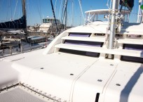 2011 Leopard 46 Catamaran DOUBLE DIAMOND bow